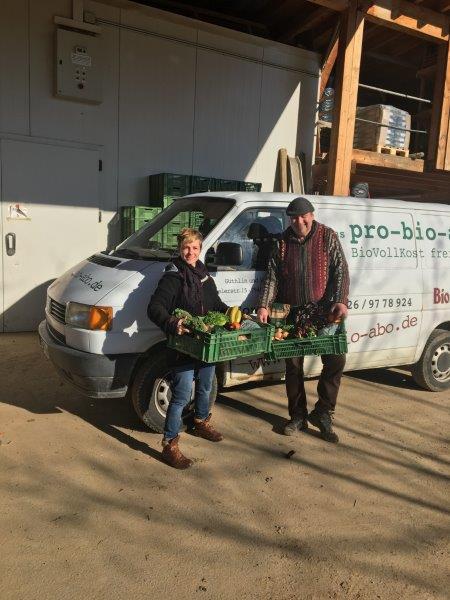 Die Lieferanten der Gemüsekiste von Pro-Bio-Abo