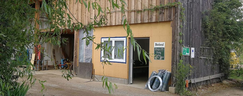 Der Pro-Bio-Abo Hofladen von Außen
